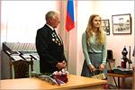 Встреча студентов специальности 'Управление персоналом' с ветераномВОВ. Открыть в новом окне [79 Kb]