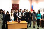 Встреча студентов специальности 'Управление персоналом' с ветераномВОВ. Открыть в новом окне [87 Kb]