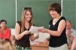 Вручение международных языковых сертификатов DSH. Открыть в новом окне [70 Kb]