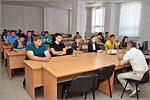 Встреча с представителями Пограничного управления ФСБ России по Оренбургской области. Открыть в новом окне [76 Kb]