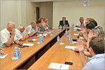 Заседание Совета ректоров вузов Оренбургской области. Открыть в новом окне [71Kb]