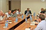 Заседание Совета ректоров вузов Оренбургской области. Открыть в новом окне [75Kb]