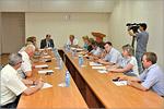 Заседание Совета ректоров вузов Оренбургской области. Открыть в новом окне [73Kb]