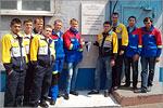 Студенты ОГУ в составе студенческого отряда 'Энергостарт-ОГУ'. Открыть в новом окне [76 Kb]