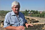 Директор ботанического сада Валерий Новиков. Открыть в новом окне [86 Kb]