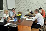 Защита магистерских диссертаций. Члены ГАК И.Просвиркина, А.Маслов. Открыть в новом окне [77 Kb]