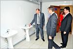 Торжественное открытие общежития№3. Открыть в новом окне [74 Kb]