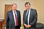 Владимир Ковалевский и Андреас Классен. Открыть в новом окне [61 Kb]