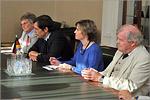 Встреча В.П.Ковалевского с делегацией Генерального консульства ФРГ. Открыть в новом окне [74 Kb]