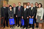 Встреча ректора ОГУ с японской делегацией. Открыть в новом окне [78 Kb]