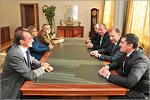 Встреча иностранной делегации с ректором ОГУ. Открыть в новом окне [91 Kb]