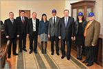 Встреча иностранной делегации с ректором ОГУ. Открыть в новом окне [95 Kb]