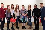 Татьяна Мошкова и студенты ОГУ. Открыть в новом окне [79 Kb]