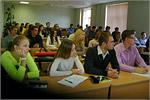 Встреча студентов ОГУ с И.Воложениной. Открыть в новом окне [79Kb]