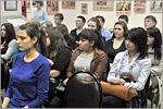 Встреча студентов ОГУ с ветераном ВОВ М.П.Изместьевым. Открыть в новом окне [86 Kb]