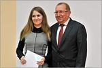 Справа— министр образования Оренбургской области Вячеслав Лабузов. Открыть в новом окне [53 Kb]