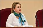 Ирина Солодилова, декан факультета филологии и журналистики. Открыть в новом окне [50 Kb]