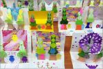 Сделанные своими руками нэнгадзё — японские новогодние открытки. Открыть в новом окне [130 Kb]