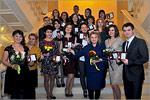 Церемония награждения лауреатов конкурса 'Студент года— 2014'. Открыть в новом окне [125 Kb]