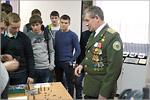 Встреча студентов с воином-интернационалистом майором в отставке Андреем Брюниным. Открыть в новом окне [121 Kb]