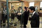 Делегация из Университетского колледжа Анабуки, Япония