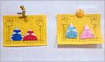 Бумажные куклы, изображающие императора и императрицу. Открыть в новом окне [126 Kb]