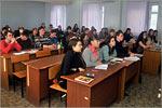 Встреча студентов ОГУ с представителями ОАО'АК БАРС' БАНК. Открыть в новом окне [125 Kb]