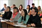Встреча студентов ОГУ с представители ОАО'АК БАРС' БАНК. Открыть в новом окне [130 Kb]