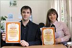 Валерий Попов и Екатерина Годованник. Открыть в новом окне [142 Kb]