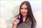 Юлия Яхина, победительница XIVмолодежных Дельфийских игр России. Открыть в новом окне [131Kb]