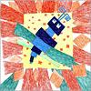Соболева Полина, 8 лет, 'Стрекоза'. Открыть в новом окне [146Kb]