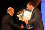 Михаил Бабин, доцент кафедры экономики и организации производства ОГУ, и Дмитрий Кулагин, председатель Законодательного Собрания Оренбургской области