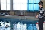На старте воспитанник ДЮТ 'Прогресс' Дмитрий Смирнов. Открыть в новом окне [153Kb]