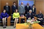 В офисе президента Университета Эхимэ Юичи Охаси