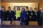 Встреча с руководителями департаментов префектуры Эхимэ