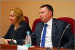 Ирина Исаенкова, директор ГБУ Центральная ПМПК, и Александр Вишняков