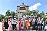 Вручение дипломов студентам ОГУ. Открыть в новом окне [149Kb]