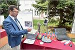 Демонстрация малокислотного ультразвукового способа получения пектина из растительного сырья Оренбургской области