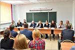 Визит немецкой делегации в ОГУ