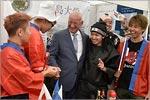 Знакомство японских студентов с губернатором Оренбургской области Юрием Бергом