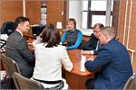 Встреча с руководством ОГУ