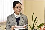 Megumi Kitamura, Lecturer of Japanese language, Japanese Information Centre, OSU