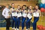 Команда по фитнес-аэробике Оренбургского госуниверситета