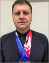 Победитель Кубка России по плаванию преподаватель ОГУ Олег Андронов