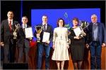 Награждение победителей спартакиады преподавателей и сотрудников Оренбургского госуниверситета «Бодрость и здоровье— 2019»