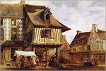 Т. Руссо. Рынок в Нормандии. Масло. 1830