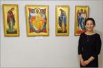 Выставка японской художницы Хироко Кодзуки