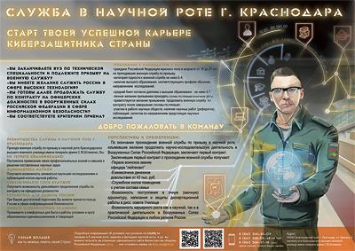 Отбор  выпускников ОГУ на службу в научную роту Краснодарского высшего военного училища