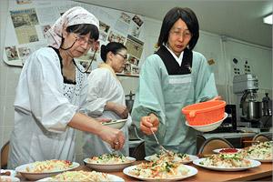 Мастер-класс по приготовлению японских блюд