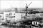 Строительство 3-го учебного корпуса, 1973 г.